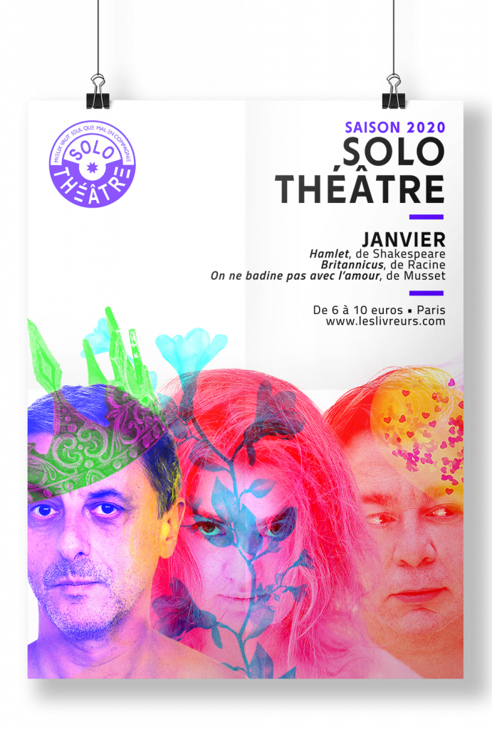 Les Solo Théâtre des Livreurs - Janvier 2020