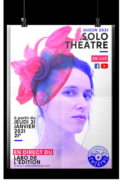 Nouvelle saison des Solo Théâtre par Les Livreurs